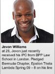Jevon Williams Bermuda Lawyer