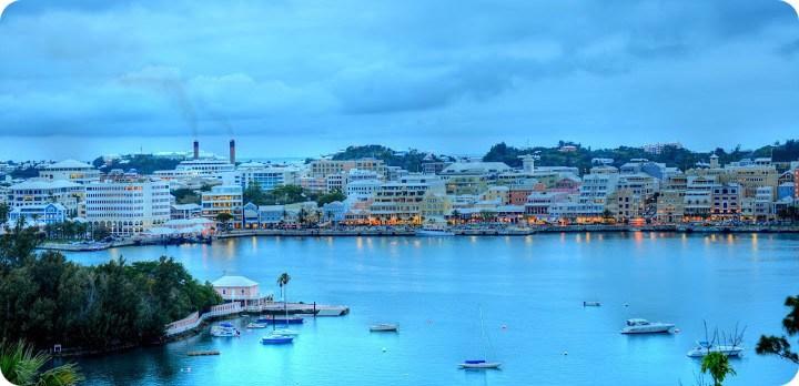 Hamilton Harbour Bermuda