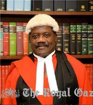 Judge Carlisle Greaves Bermuda Judge