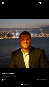 Evan van Roon RCMP Spy-Employee Gov Spook
